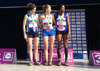 Léonie vice-championne de France de cross