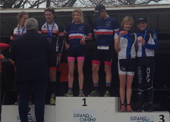 Podium Master aux France Bike n run pour Sylvie Parmantier et Dany Pinard